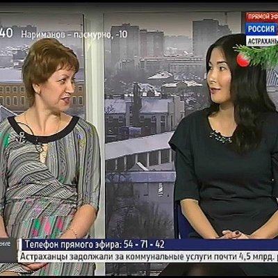 """Психолог Надежда Майсак на канале """"Россия 24 Астрахань"""""""